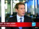 Quel est l'impact de la mort de Ben Laden sur le terrorisme international ?