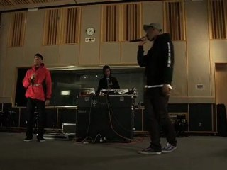 """Odd Future's Tyler The Creator, Hodgy Beats & Syd Tha Kid Perform """"Analog"""" For Radio 1 Live Session"""