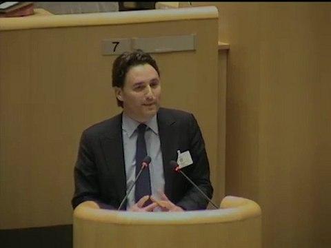 Ladislas POLSKI présente le cadre d'intervention des Maisons Régionales de la Santé