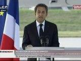 EVENEMENT,Hommage de Nicolas Sarkozy aux victimes de l'attentat de Marrakech