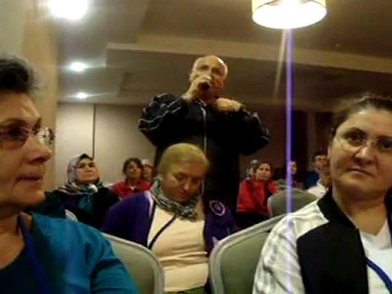 Kozmik Beden Temizliği Kampı katılımcısı görüşlerini paylaşıyor.