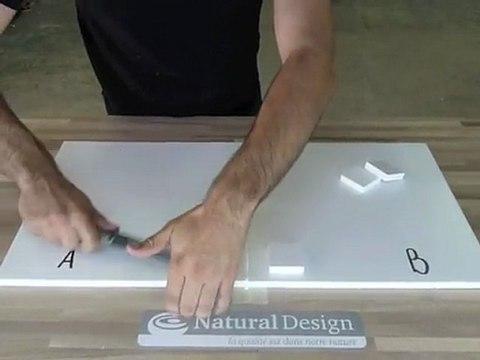NATURAL DESIGN - Assemblage Solid Surface 12mm