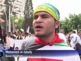 Gaza Palestinians celebrate unity deal