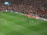 GOAL APO TON VALENCIA Manchester United - Schalke  1-0