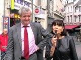 Travaux CLEO à Orléans - La rue Jeanne d'Arc dévoile son nouveau visage - Intervention de Mme Pinault