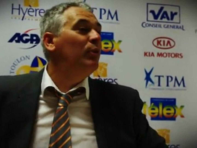 Interviews d'aprés match