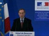 2nd tour des  Elections cantonales 2011 - Intervention de Claude GUÉANT