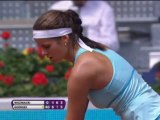 Goerges stuns top seed Wozniacki in Madrid