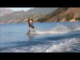 wakeboard ski nautique Serreponçon Natu'rollchute chute wipeout