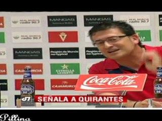 Iñaki no se irá al Cartagena - Vídeos de Entrevistas del Real Murcia CF