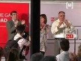 José Blanco en un acte del PSIB-PSOE a Llucmajor
