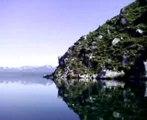 Ilot sur le lac kourilsk