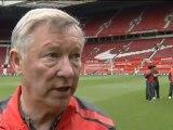 Ferguson vor dem Spiel