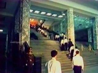 Visite du Mausolée du Président Kim-Il-Sung