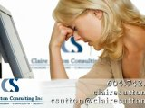 Life Coach, Counselling Services | Claire Sutton Consulting Inc.