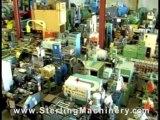 "50 Ton Used Piranha Hydraulic Ironworker, Mdl. P3, 8"" ..."