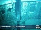 Soirée Titanic à la Cité de la Mer (Cherbourg)
