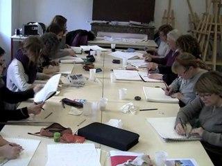 Cours de dessin : Stage aquarelle et perspective