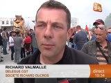 Les salariés de Richard Ducros en colère! (Montpellier)