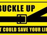 Buzz  fausse pub pour le port de la ceinture de sécurité routière Ben Laden