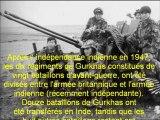 """Les Gurkhas troupes """"indigènes"""" de l'armée britannique Commémoration 50e anniversaire des Indépendances Africaines et Malgache 2011 JD Castelnaudary (Aude)"""