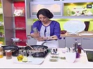 Cuisine de Choumicha - cuisse de dinde farcie au four