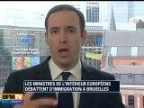 Les eurodéputés débattent des frontières
