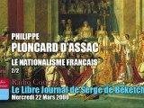 Philippe Ploncard d'Assac: Le Nationalisme Français 1 (2/2)