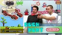 "La saga NES ""Famicom - NES"" Retro Game Test   review Duck Hunt."