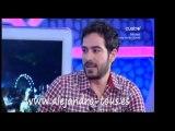 """Alejandro Tous. Entrevista """"El Hormiguero"""" junto a Rossy de Palma"""