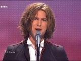 Amaury Vassili à l'Eurovision