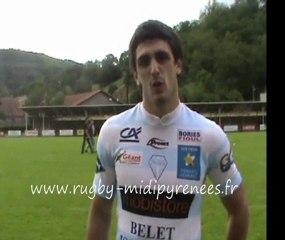 interwiew duffard pierre rugby Decazeville