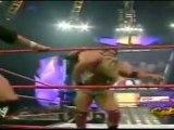Chris Jericho, Edge and Chris Benoit vs Evolution WWE RAW 8-2-04 Part 2