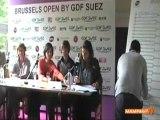 Tirage au sort du tournoi WTA Brussels Open par Bertin Mampaka