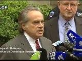 """Benjamin Brafman s'est dit """"déçu"""" par la décision du tribunal de ne pas laisser DSK en liberté sous caution"""