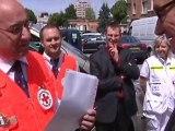 Une nouvelle ambulance à la Croix Rouge (Troyes)