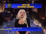 The David Letterman Show : 10 Conseils aux futurs chanteurs