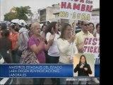 Profesores del estado Lara exigen aumento salarial