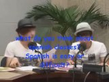 Super Junior speaking spanish! [Melodías de Corea-KBS radio]