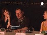 Lars Von Trier choque Cannes