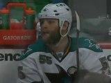 Canucks vs. Sharks..Ben Eager Penalty Box