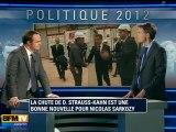 La chute de Dominique Strauss-Kahn est une bonne nouvelle pour Nicolas Sarkozy