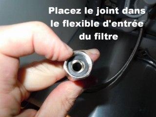 Installation du filtre sous évier - CLICOFSE