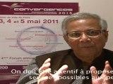 Muhammed Yunus pour une microfinance responsable / Muhammad Yunus on responsible microfinance