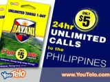 Unlimited Calls to the Phillipines | Phillipines Calling Card | YouTelo.com