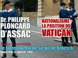 Philippe Ploncard d'Assac: Vatican & Nationalisme (3/3) - Radio Courtoisie