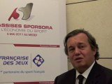 Assises Sporsora - Olivier Ginon, Président de GL Events