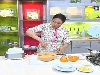 Choumicha - glace à la papaye