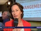 ITW de S.Royal à Poitiers  fr3 Poitou Charentes 24/05/2011