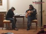 Dans la cuisine de Stephan Eicher et Philippe Djian...